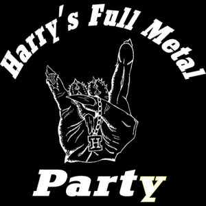 Logo des Festivals Harry's Full Metal Party in Besenfeld, Seebronn